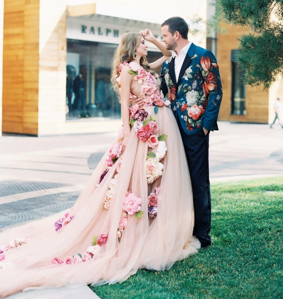 Нетрадиционные идеи свадебных платьев
