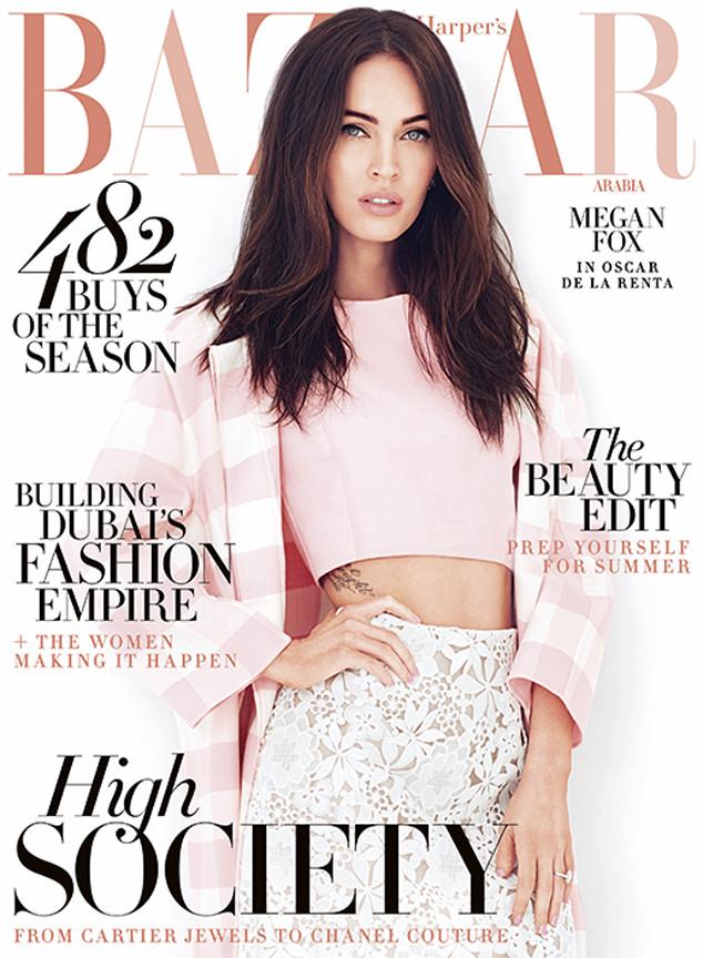Атриса Меган Фокс снялась в нежной фотосессии для Harper's Bazaar Arabia