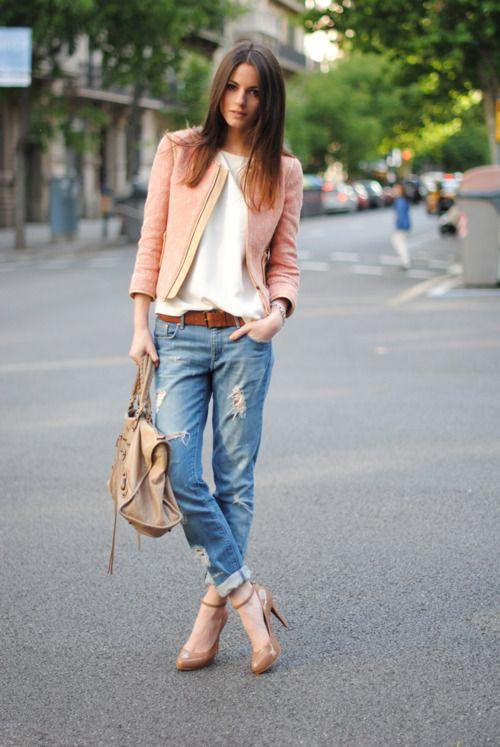 Джинсы бойфренда – прекрасная альтернатива полюбившимся узким штанам