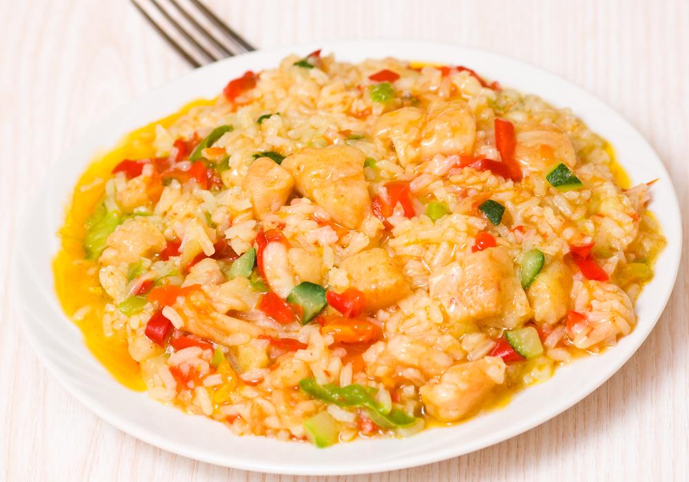 блюдо с морепродуктами рецепт