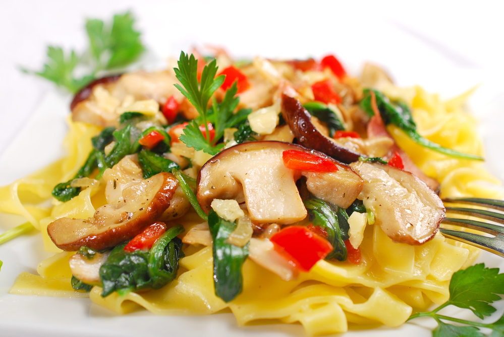 рецепт итальянской пасты морепродуктами