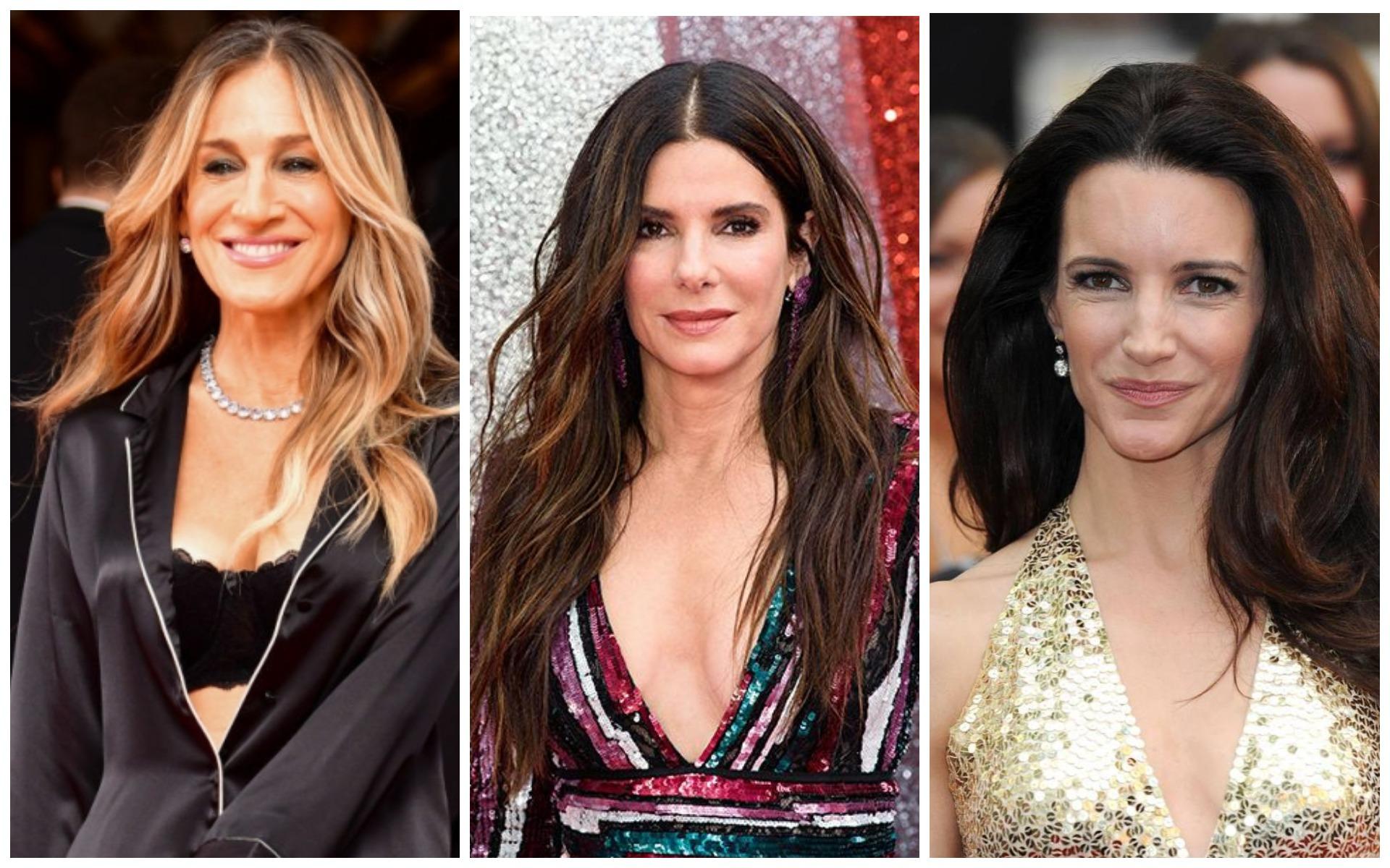 Длинные волосы имеют место быть в жизни сорокалетних женщин