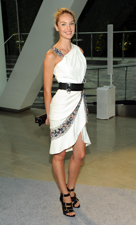 Кэндис Свейнпол, модель Victoria's Secret