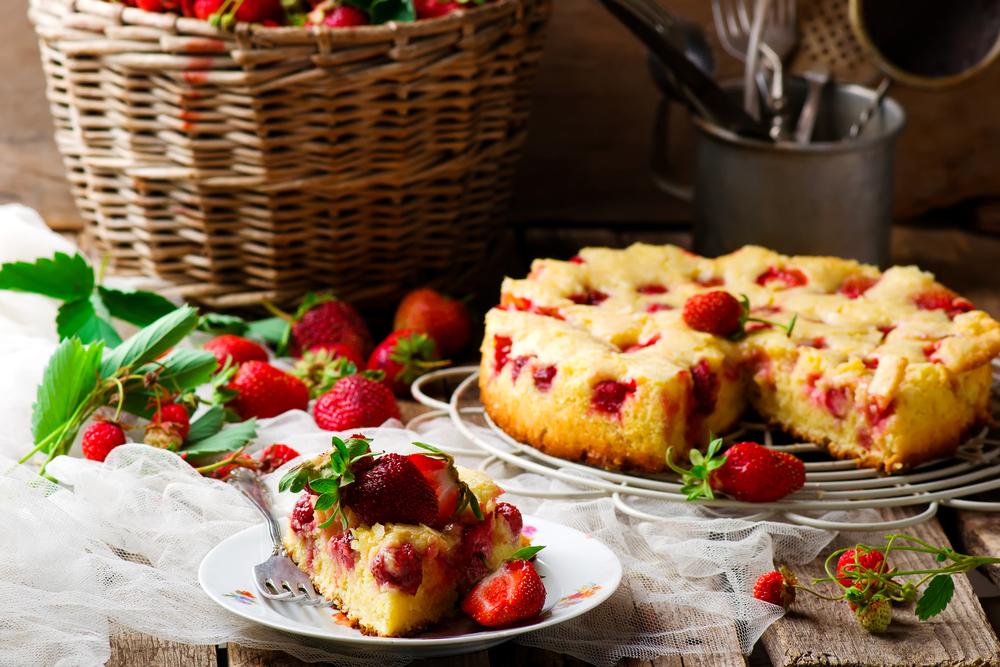 Пирог с творогом и фруктами рецепт 97