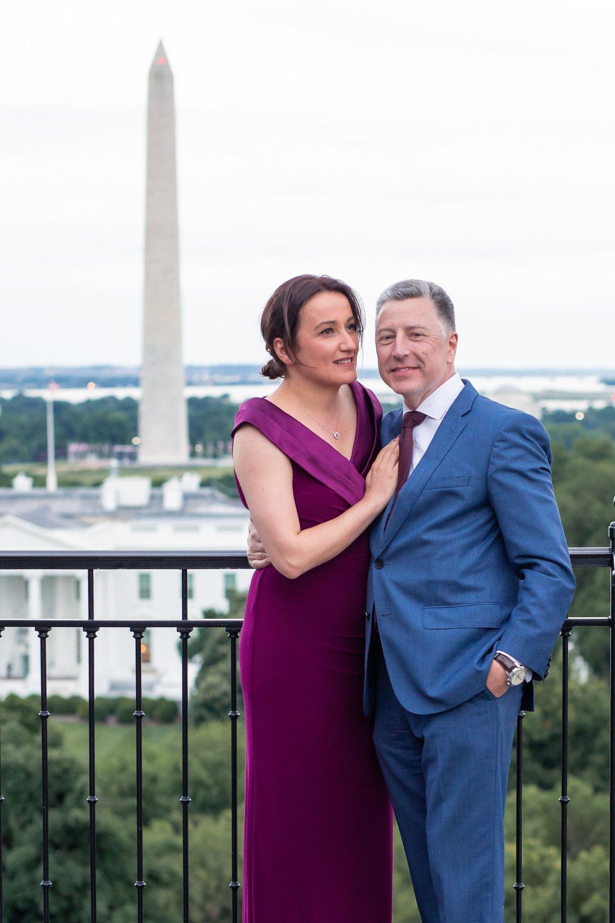 Курт Волкер женился на грузинской журналистке - фото