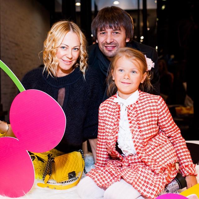 Ольга Аленова с Александром Шовковским и их дочкой Александрой