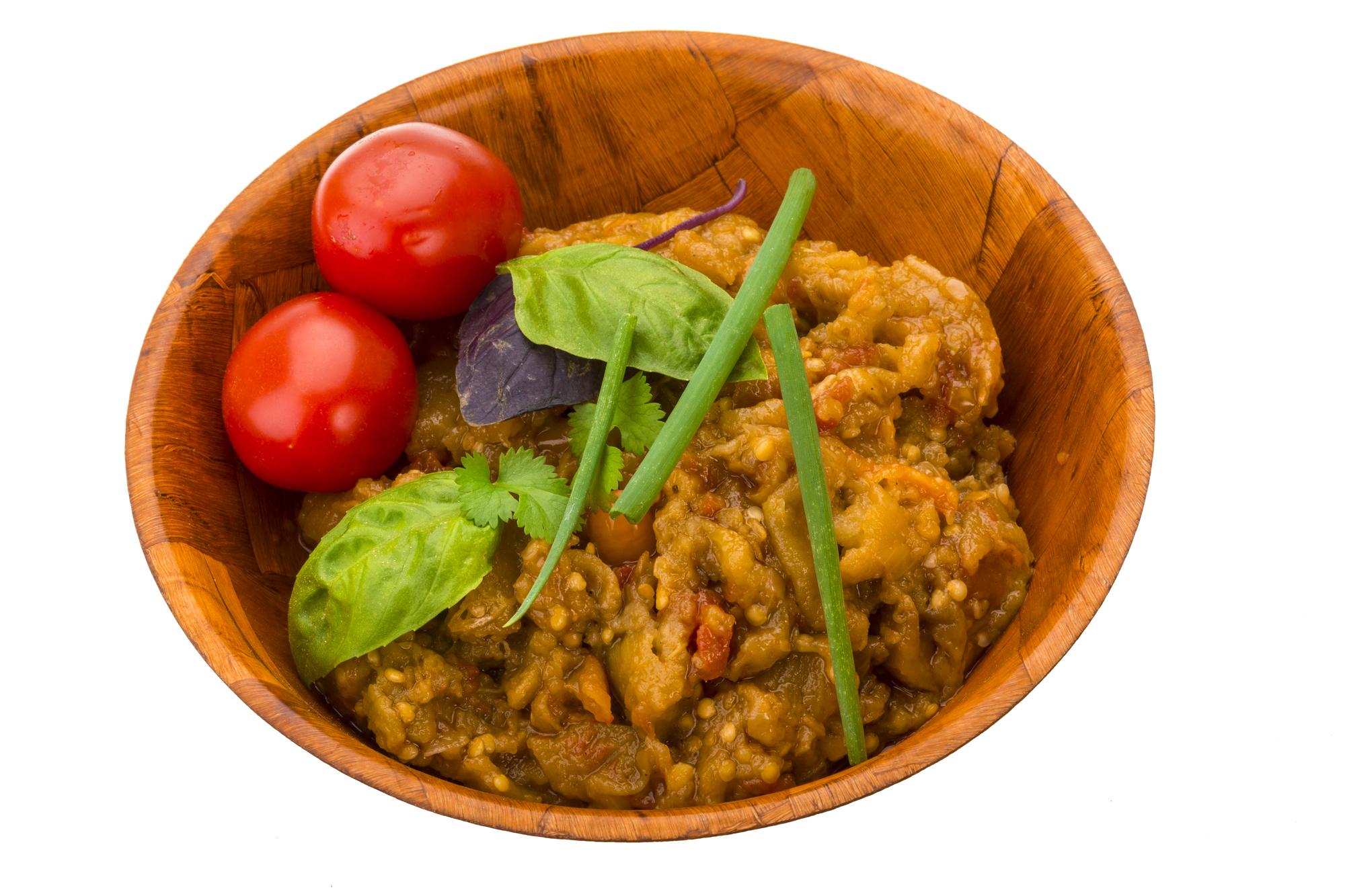 Рецепт на зиму: Баклажаны консервированные с фасолью