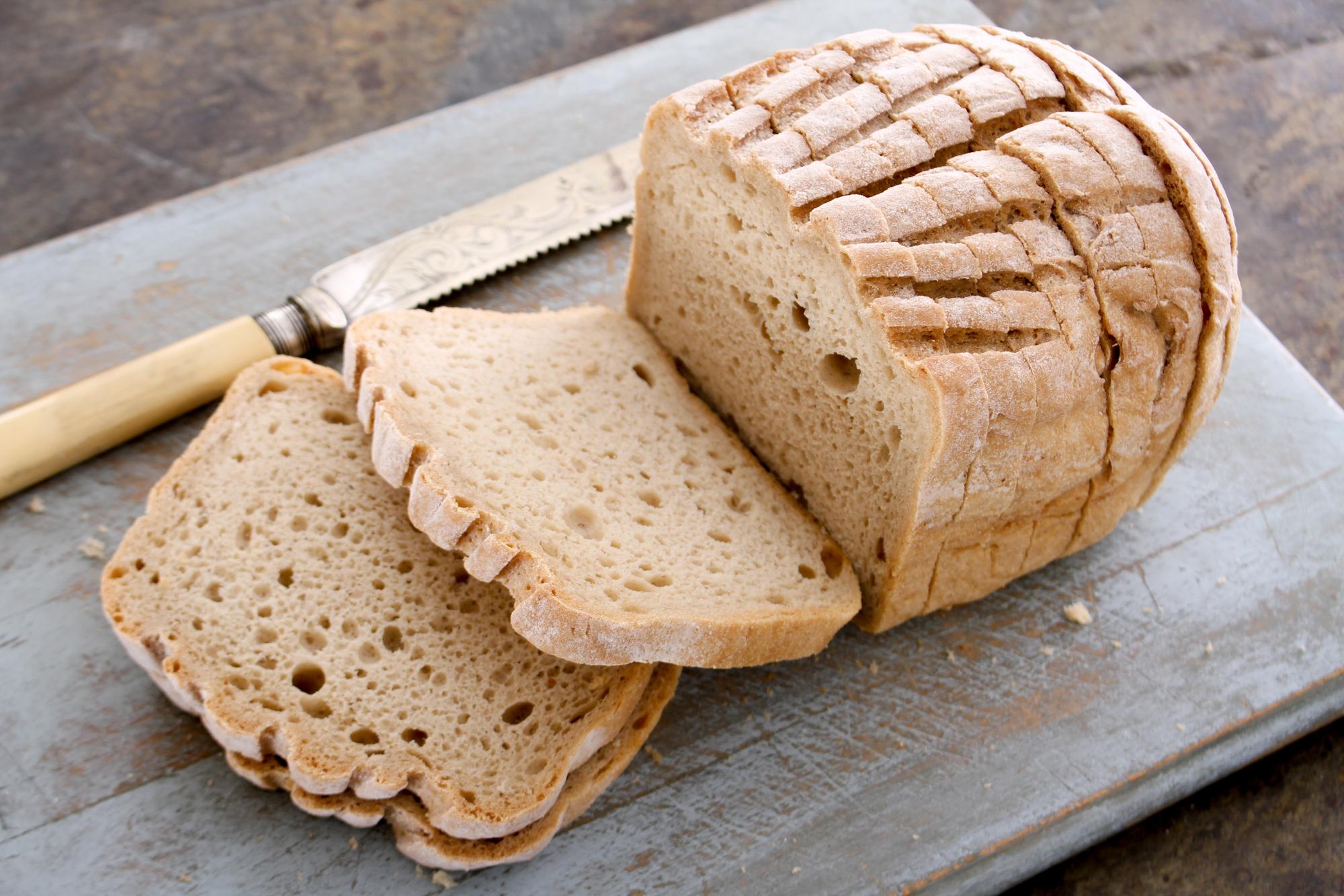 Рецепты полезной выпечки: хлеб без глютена