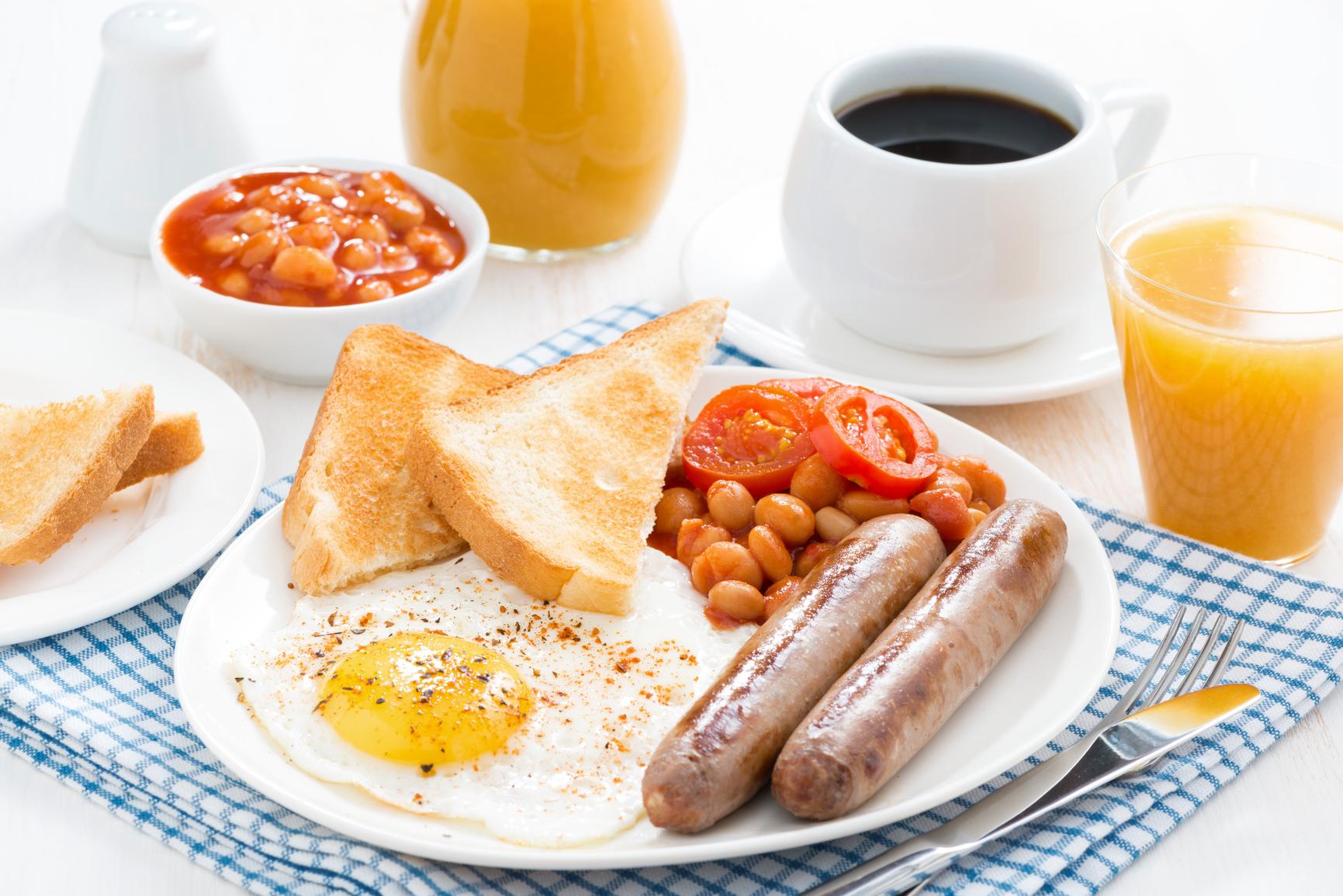 Классический английский завтрак рецепт