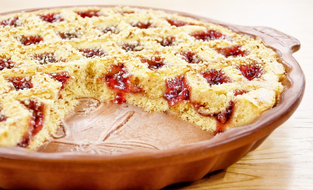 Как испечь пирог с малиной рецепт