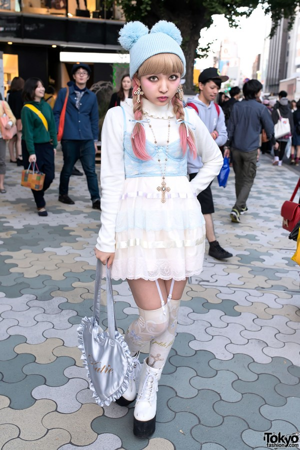 Японские модники удивляют невероятными образами