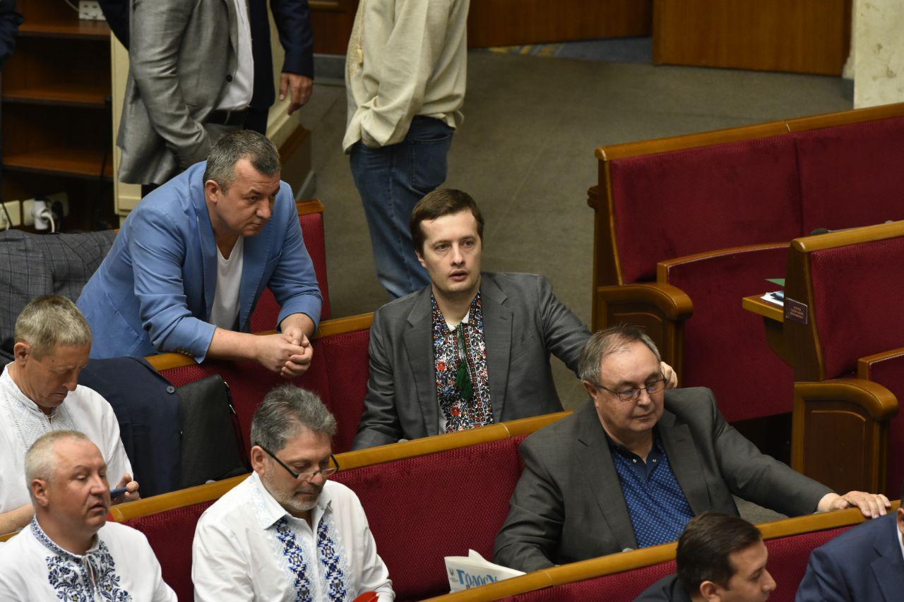 Алексей Порошенко в Раде, фото: Аркадий Манн,