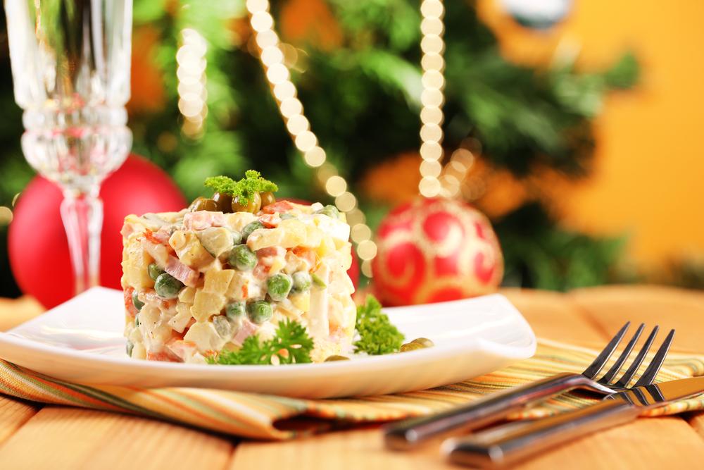 рецепт оливье новогодний