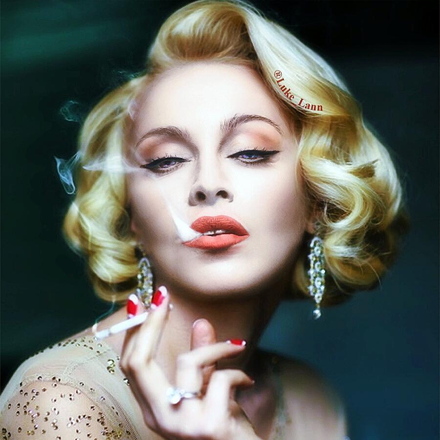 Пользователь Сети примерил Мадонне образ Оли Поляковой