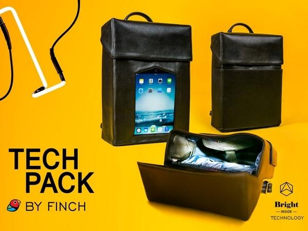 Украинский бренд Finch презентовали интерактивный рюкзак
