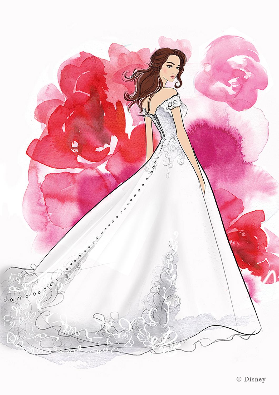 Дисней выпустит свадебные платья принцесс