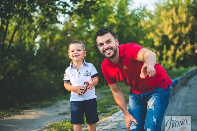В рамках спецпроекта телеведущий рассказал, что самое главное в воспитании сына.
