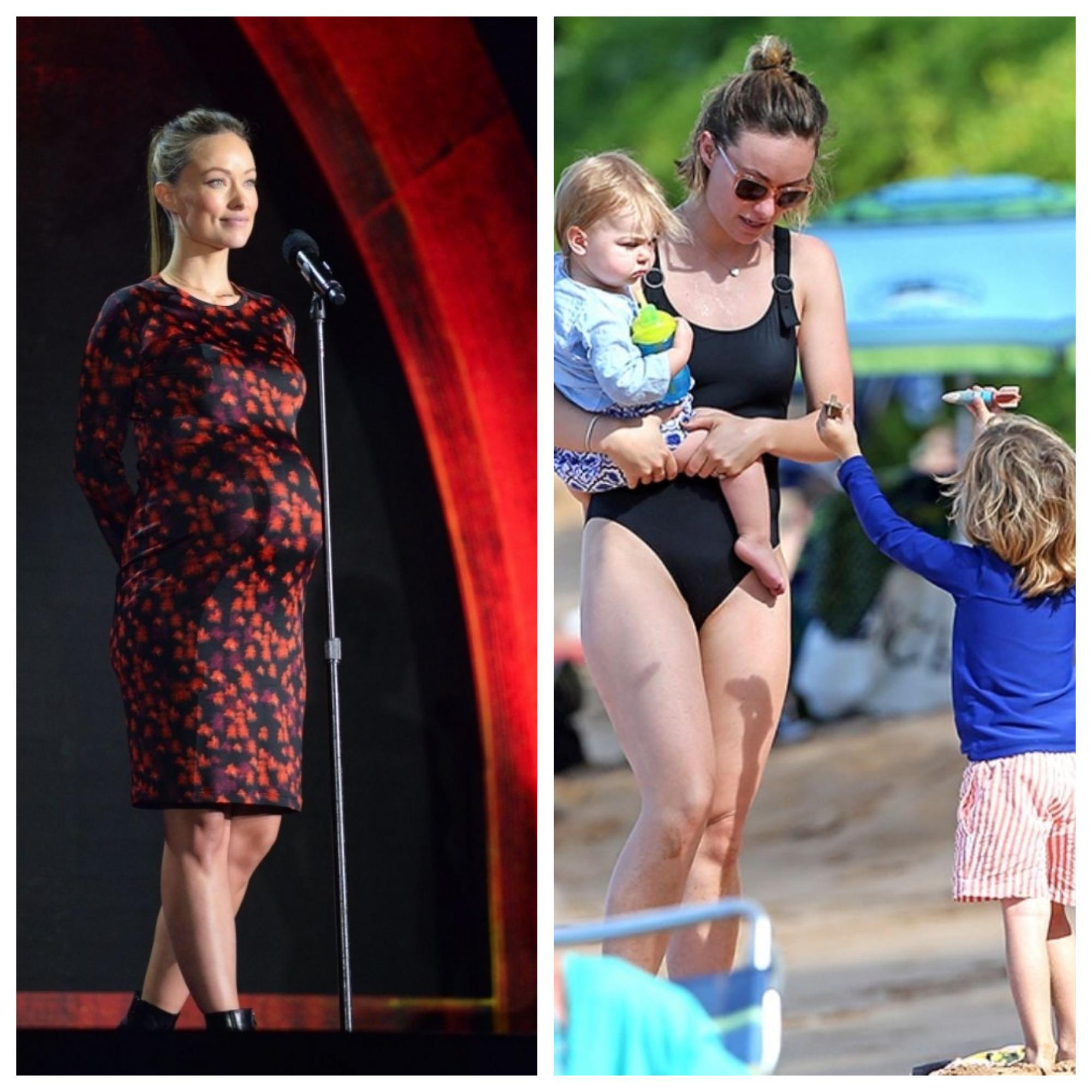 Оливия Уйальд сверкает идеальной фигурой даже после рождения двоих детей