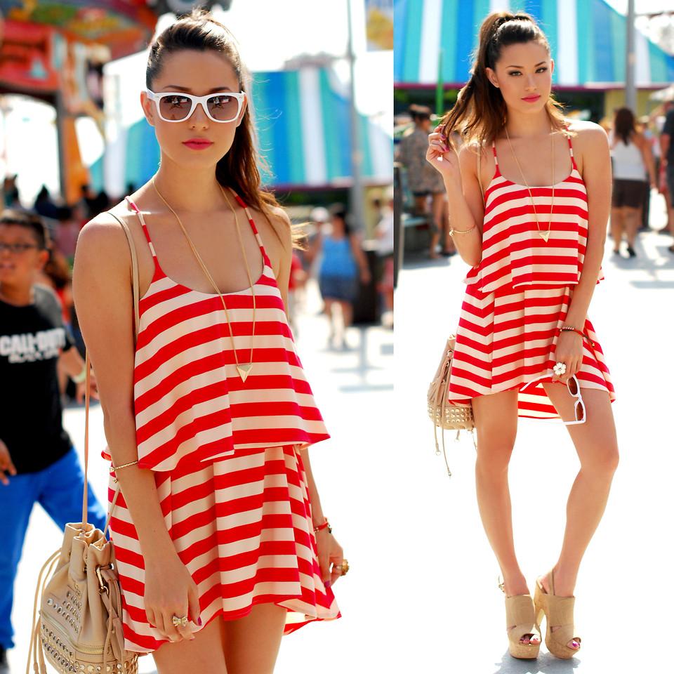 Летом нет ничего лучше легкого платья или сарафана