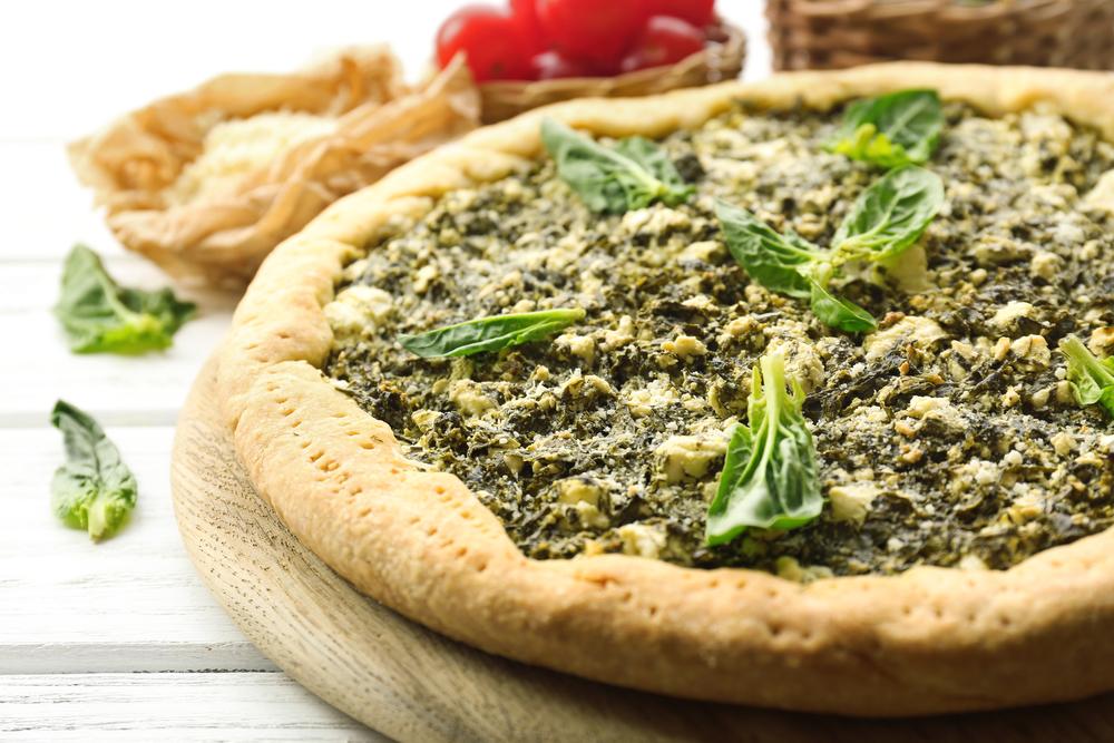 рецепт пирога с брынзой и зеленью