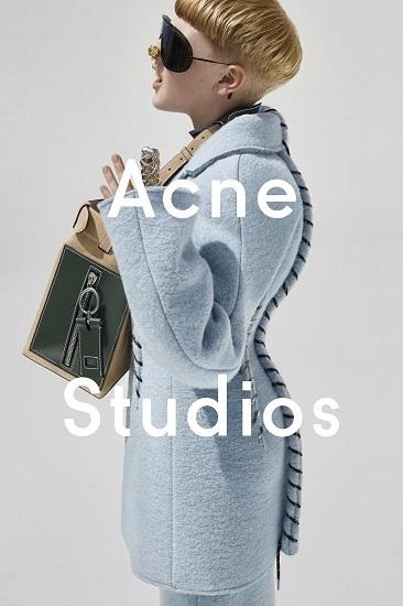 Фрассе Йоханссон в рекламной кампании Acne