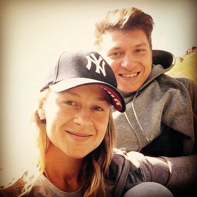 Ольга Мартыновская со своим возлюбленным