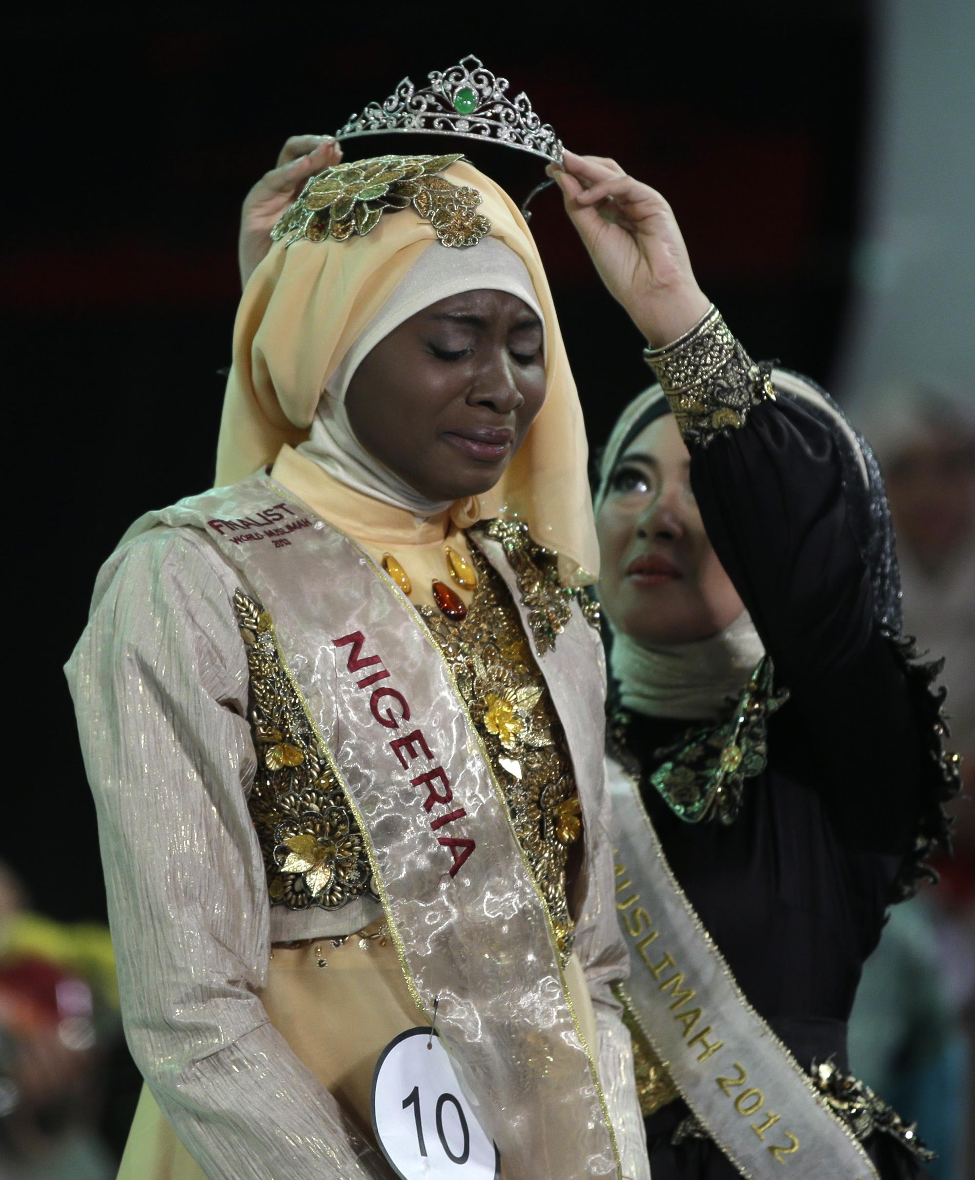 21-летняя Обабия Айша Аджиболы стала первой красавицей мусульманского мира