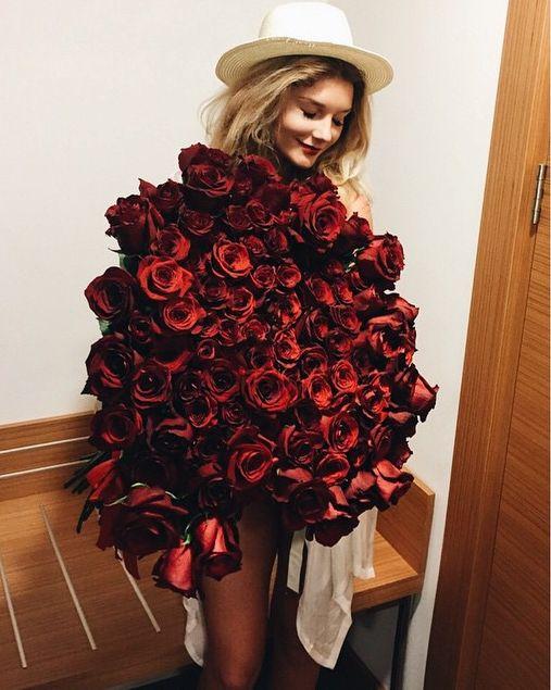 Букетом цветов instagram com misharomanova