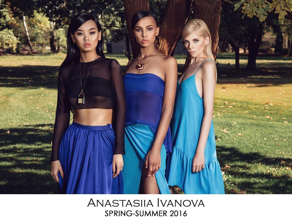 Новая коллекция Anastasiia Ivanova