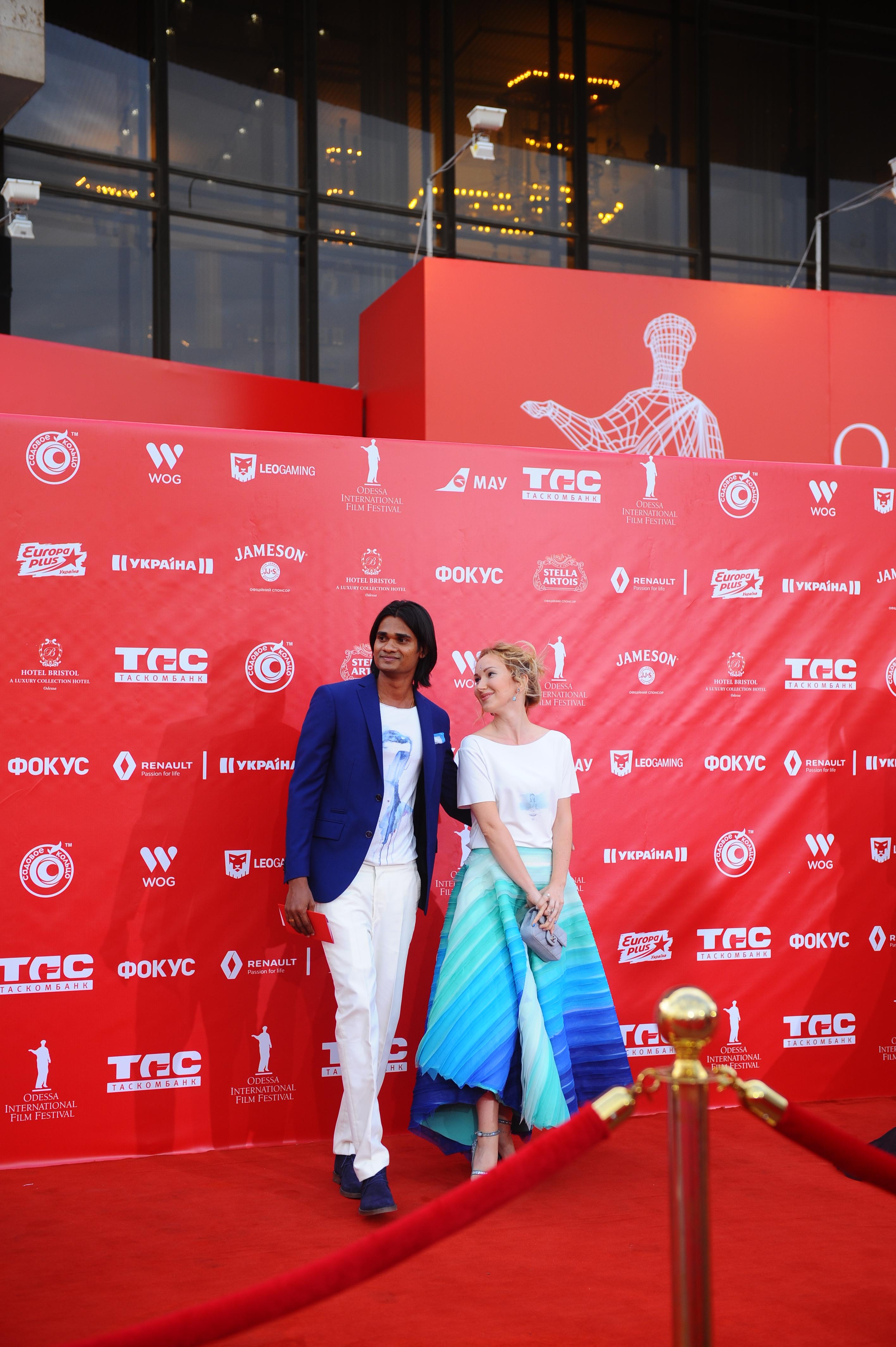 Ксения Бугримова с мужем