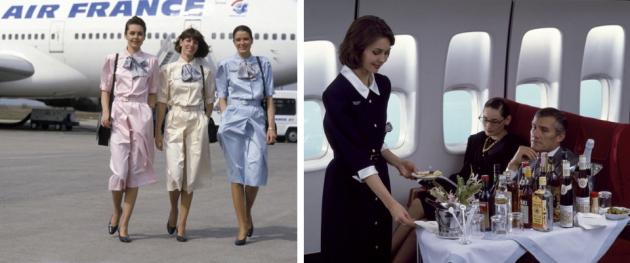 Униформа для сотрудниц Air France от мадам Кармен