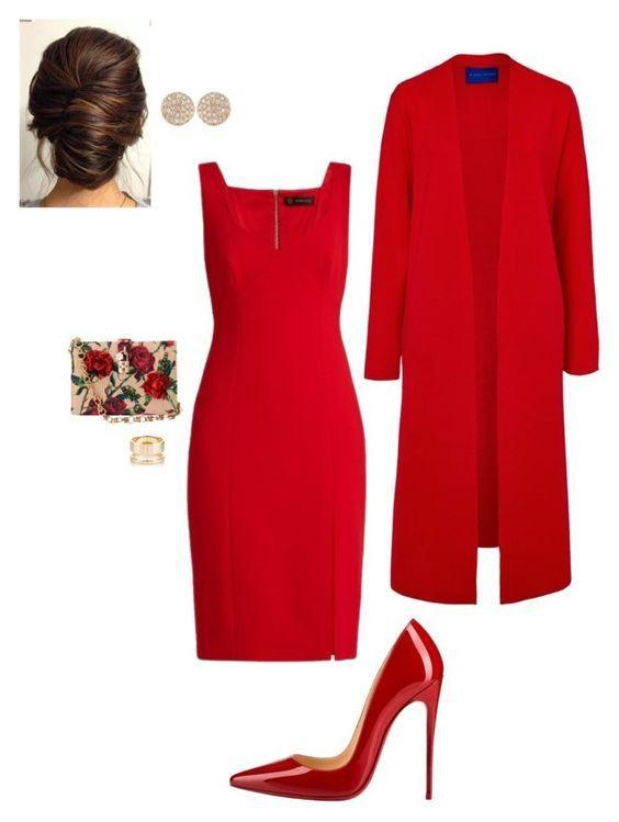 Красный наряд сделает женщину заметной