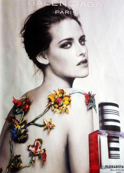 Первый кадр новой рекламной кампании Florabotanica от Balenciaga
