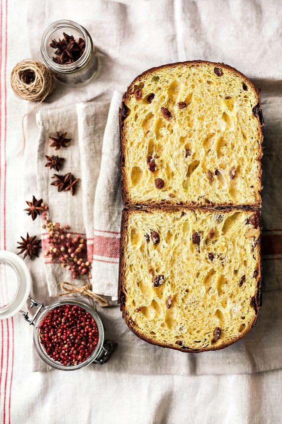 Рецепт итальянской паски Панеттоне с изюмом и цукатами