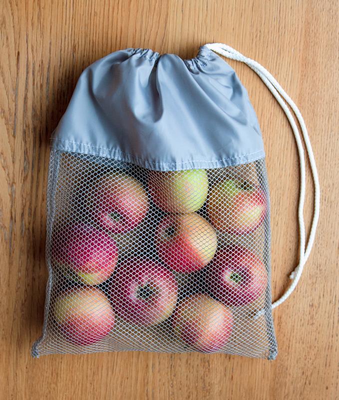 Для фруктов подойдет пакет-сетка