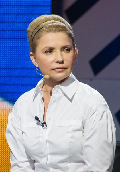 Прическа юлии тимошенко новая прическа