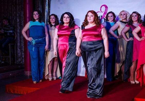 В Днепропетровске создали модельную школу для полных девушек