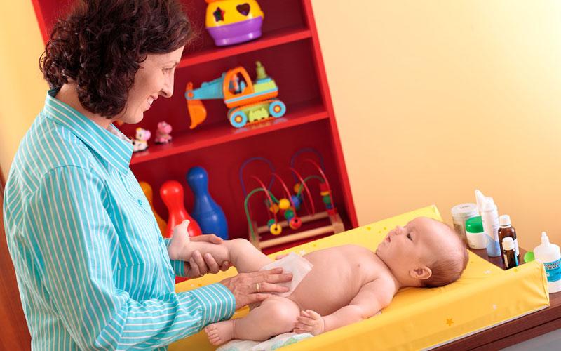 Уход за пуповиной младенца
