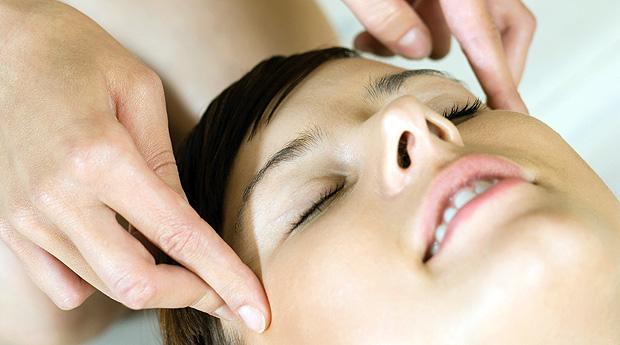 Японский массаж для лица