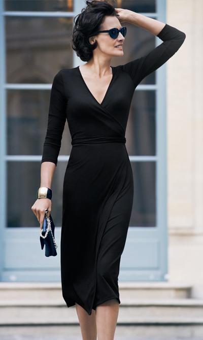 Советы француженок - черное платье
