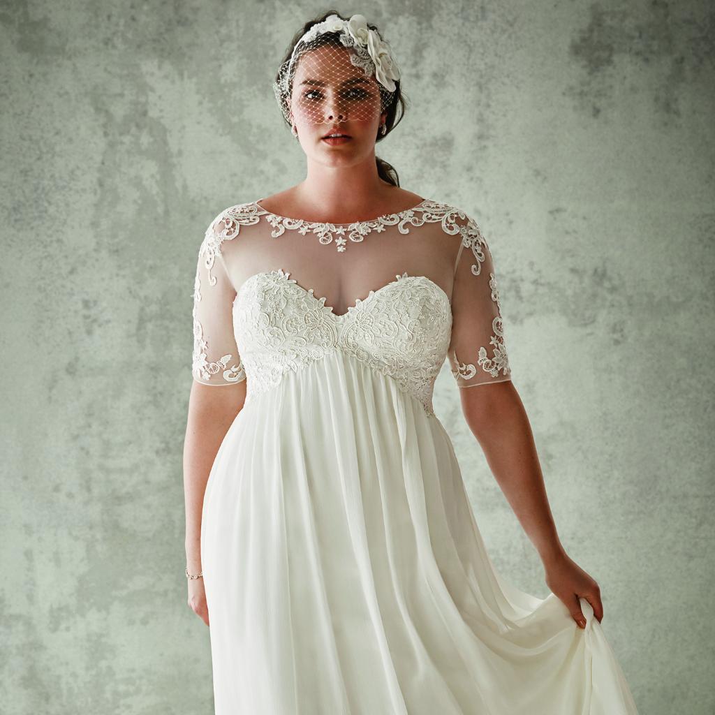 Кэндис Хаффин примерила свадебные платья