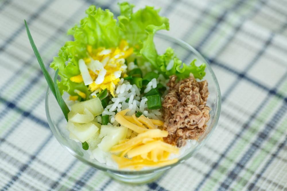 Рецепт салата в креманке 175
