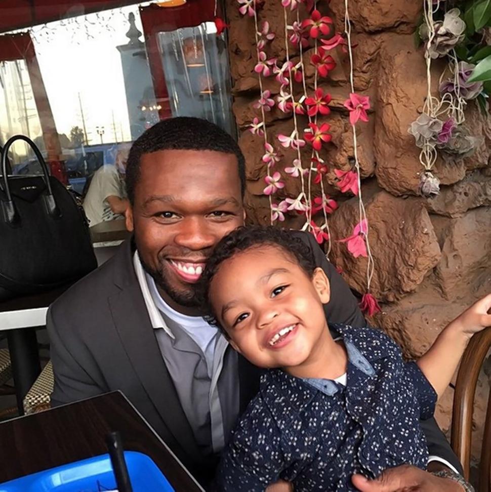 Репер 50 Cent уверен, что его маленький сын достоин контракта стоимостью в 700 тысяч долларов