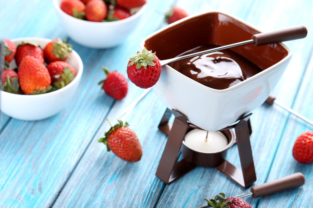 Рецепт фондю из шоколада
