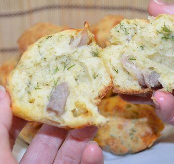 Картофельные маффины: пошаговый рецепт