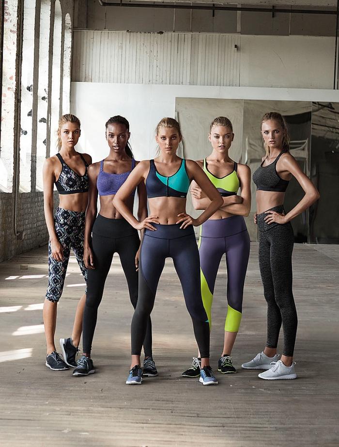 Ангелы Victoria's Secret в новой спортивной рекламной кампании