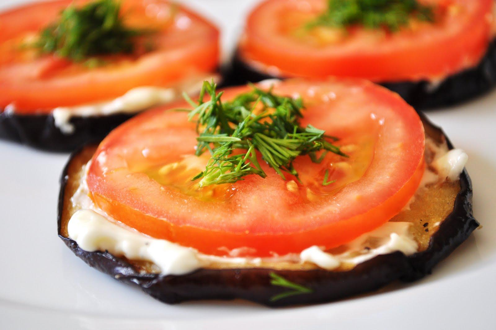 Баклажаны запеченные с чесноком и помидорами рецепт