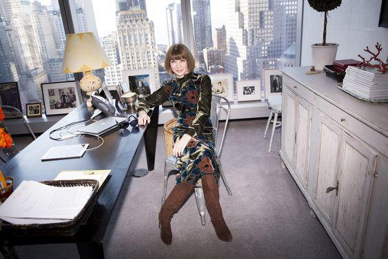 Анна Винтур - главный редактор американской версии журнала