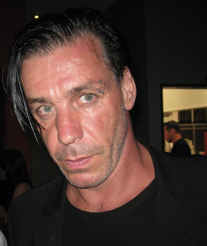 Тилль Ли́ндеманн, солист группы Rammstein