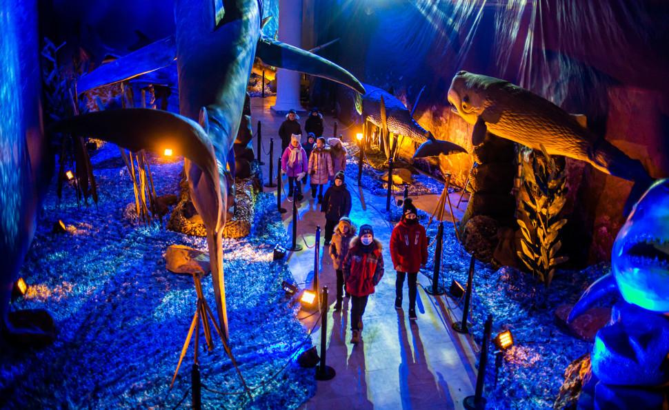 Выставка «Динозавры морских глубин»